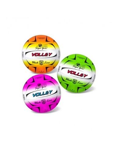 PALLONE VOLLEY FLUO 21CM ASS.