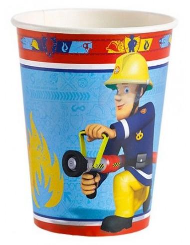 sam-il-pompierebicchieri-carta-200cc-pz8