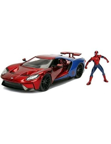 spiderman-2017-ford-gt-1:24-+-pers.