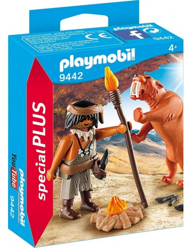 playmobil-uomo-preistorico-c/tigre