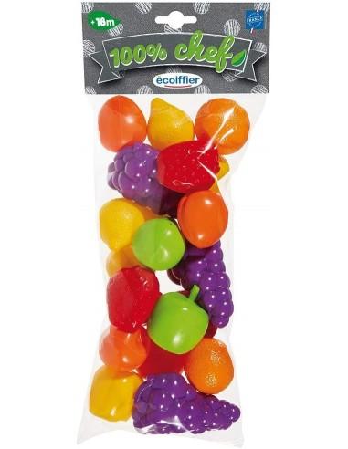 ecoiffier-22-frutti-in-busta